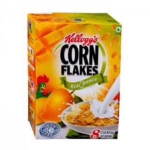Kelloggs Corn Flakes Real Mango Puree Corn Flakes 300g