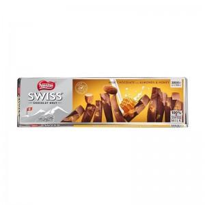 Nestle Swiss Milk Chocolate With Almonds & Honey Chocolate 300 Gm
