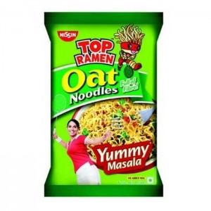 Nissin Top Ramen Oat Noodles Yummy Masala 280 Gm