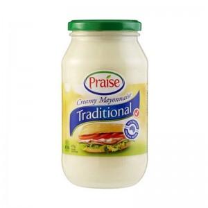 Praise Traditional Creamy Mayonnaise 410g
