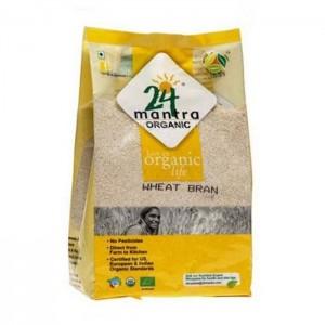 24 Letter Mantra Organic Wheat Bran Rice 500g