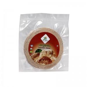 24 Mantra Organic Spiced Papad 100g