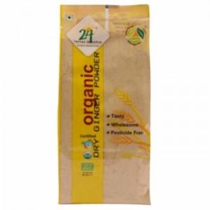 24 Lm Organic Dry Ginger /Adrak Powder 50g