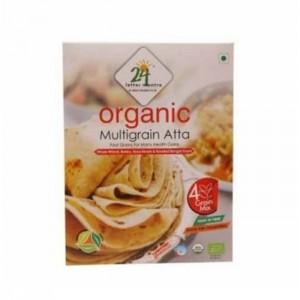24 Lm Organic Multigrain Atta 500g