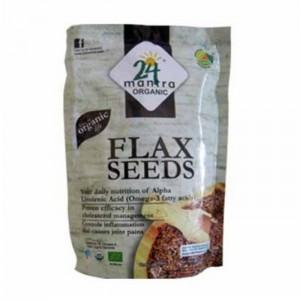 24 Lm Organic Flax /Alsi Seeds 200g
