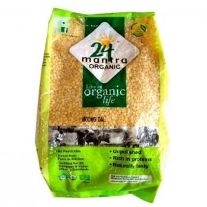 24 Lm Organic Moong Dal 500g