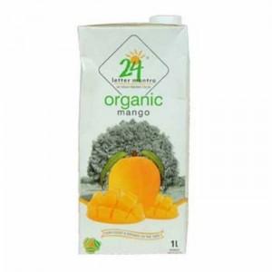 24 Lm Organic Mango Juice 1 Ltr