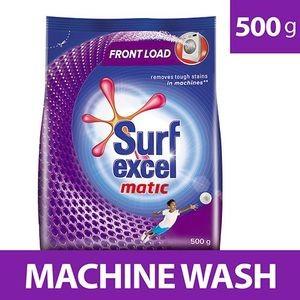 Surf Excel Matic Front Load Detergent Powder, 500 gm