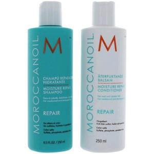 Moroccanoil Moisture Repair Shampoo and conditioner Combo Set  (8.5 oz each)