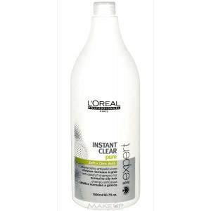 L'Oreal Professionnel Instant clear shampoo - Anti Dandruff - 1.5ltr