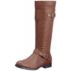 Carlton London Women's Jaden Leather Boots  5 UK (CLL-2866)