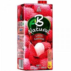 B Natural Litchi Luscious 1 Ltr