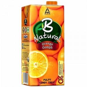 B Natural Orange Oomph 1 Ltr