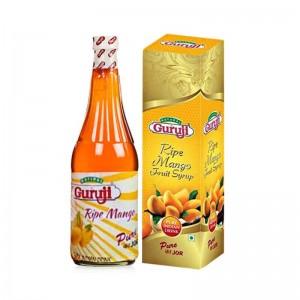 Guruji Ripe Mango Syrup 750 Ml