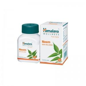 Himalaya Neem Skin Wellness 60 Tablets  1 Pc