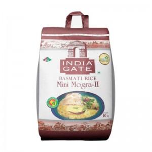 India Gate Mini Mogra-II Basmati Rice (Khichdi Rice) 10kg
