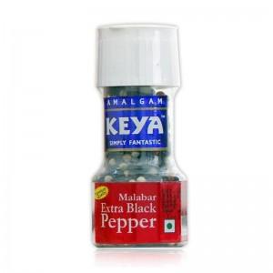Keya (Sri Lankan) Grinder Malabar Extra Black Pepper / Kali Mirch 40g
