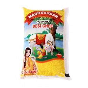 Madhusudan Desi Ghee Poly Pack 1 ltr