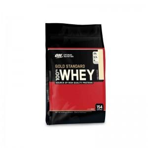 ON 100% Whey Gold Standard Vanilla Ice Cream Bag - 10 Lb Bag