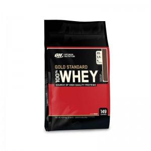 Optimum Nutrition Gold Standard 100% Whey Protein Powder Drink Mix 10 Lb