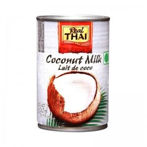 Real Thai Coconut Milk Lait De Coco  400 Ml