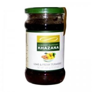 Sanjeev Kapoor Khazana Pickle Lime & Fresh Turmeric 300g