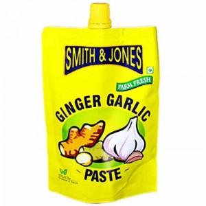 Smith & Jones Ginger Garlic /Adrak/LahasunPaste Pouch 200g