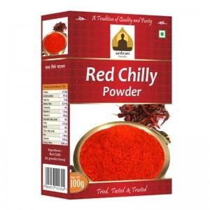 Sri Sri Aashram red chilly powder 100g