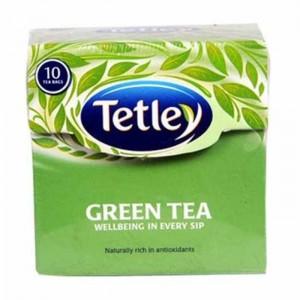 Tetley Green Tea Bags 10 Bags