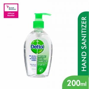 Dettol Hand Sanitizer - Original, 200 ml