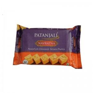 Patanjali Navratna Nagpur Orange Soan Papdi 250 Gm