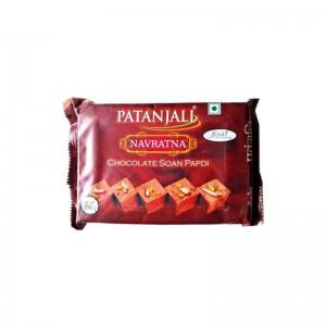 Patanjali Navratna Chocolate Soan Papdi 250g