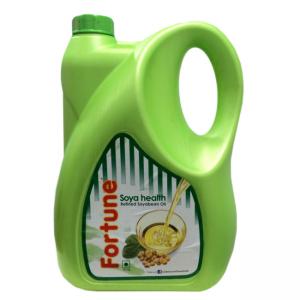Fortune Soya Health Refined Soyabean Oil 5ltr