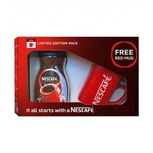 NESCAFE Classic Coffee 100g Jar with Free Red Mug-