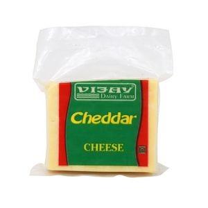 Vijay Dairy Farm Cheese - Cheddar, 200 gm Pouch