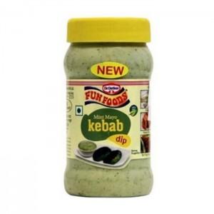 Funfoods Mint Kebab Mayonnaise Dip 235 Gm
