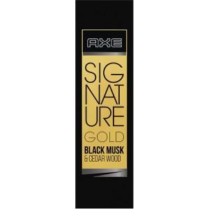 Axe Signature Gold Italian Bergamot & Amber Wood Perfume, 80 ml