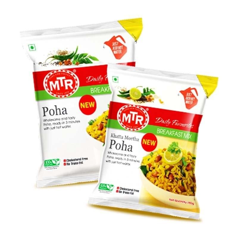 Mtr Khatta Meetha Poha Breakfast Mix 60g