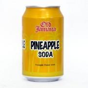 Old Jamaica Soda - Pineapple, 330 ml