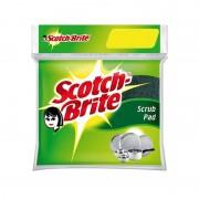 Scotch brite scrub pad size 7.5 x 7.5 cm 1 Pcs