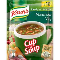 Knorr Instant Manchow Veg Cup A Soup, 12g