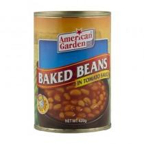 American Garden tomato sauce baked beans 420g