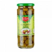 Delmonte Plain Green Olives 450g