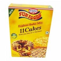 Funfoods Eggless Cake Mix 11 Cakes 250g