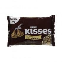 Hersheys Kisses Creamy Milk Chocolate With Almonds 315 Gm