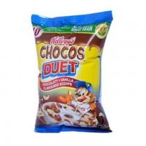 Kelloggs Chocos Duet Chocolate+Vanilla Flavour 375g