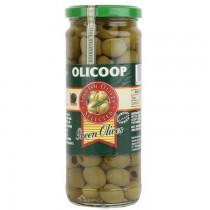 Olicoop Plain Green Olive 450g