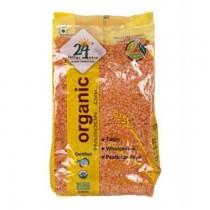 24 Lm Organic Masoor Dal 500g