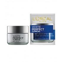 L'Oreal - Dermo-Expertise White Perfect Laser All-Round Protection Whitening Cream Spf19 Pa+++ - 50Ml/1.7Oz