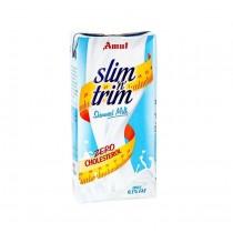 Amul Slim N Trim Skimmed Milk 1 Ltr
